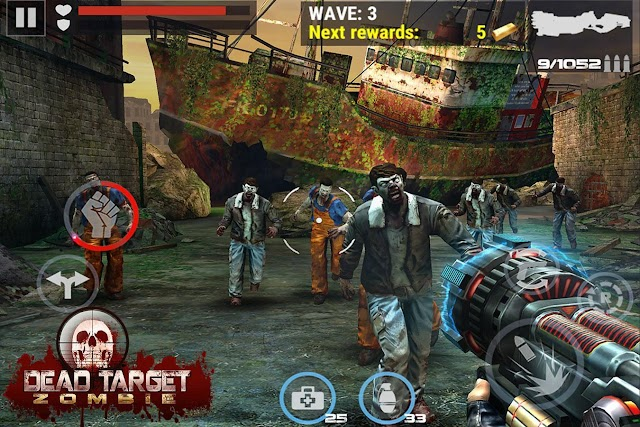 DEAD TARGET: Zombie Offline Mod Apk - Game kinh dị cho điện thoại