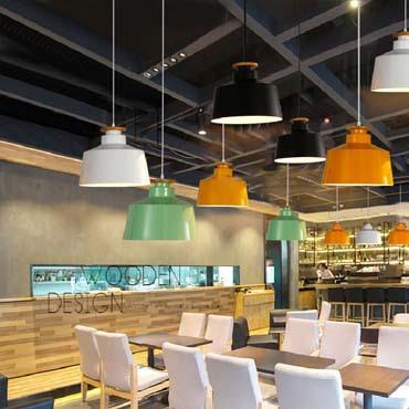 Tại sao cần chọn đèn thả phong cách hiện đại cho quán cafe