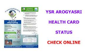 YSR Aarogyasri Health Card 2021