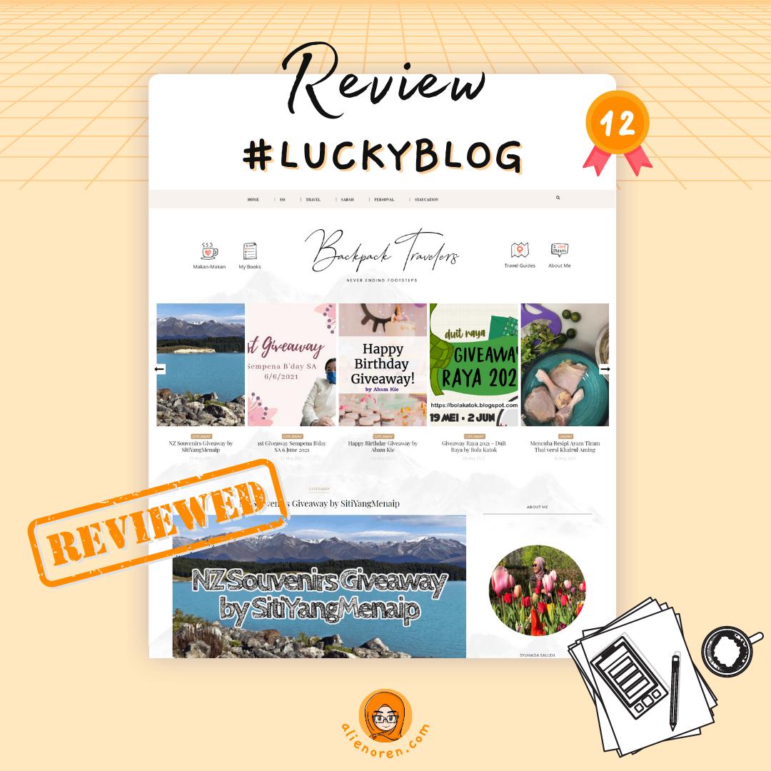 Review blog Syuhada Salleh