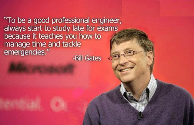 Excellent quote of Bill gates