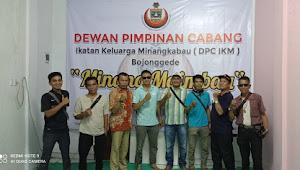 Terbentuknya DPC IKM ( Ikatan Keluarga Minang ) Bojong Gede
