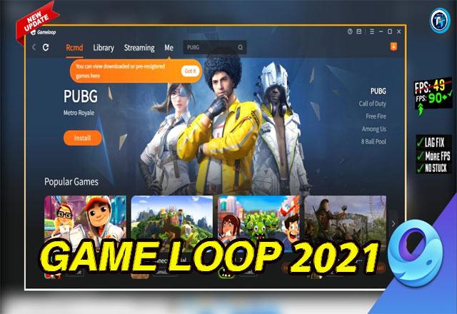 تحميل محاكي game loop بعد التحديث الجديد 2021 للكمبيوتر