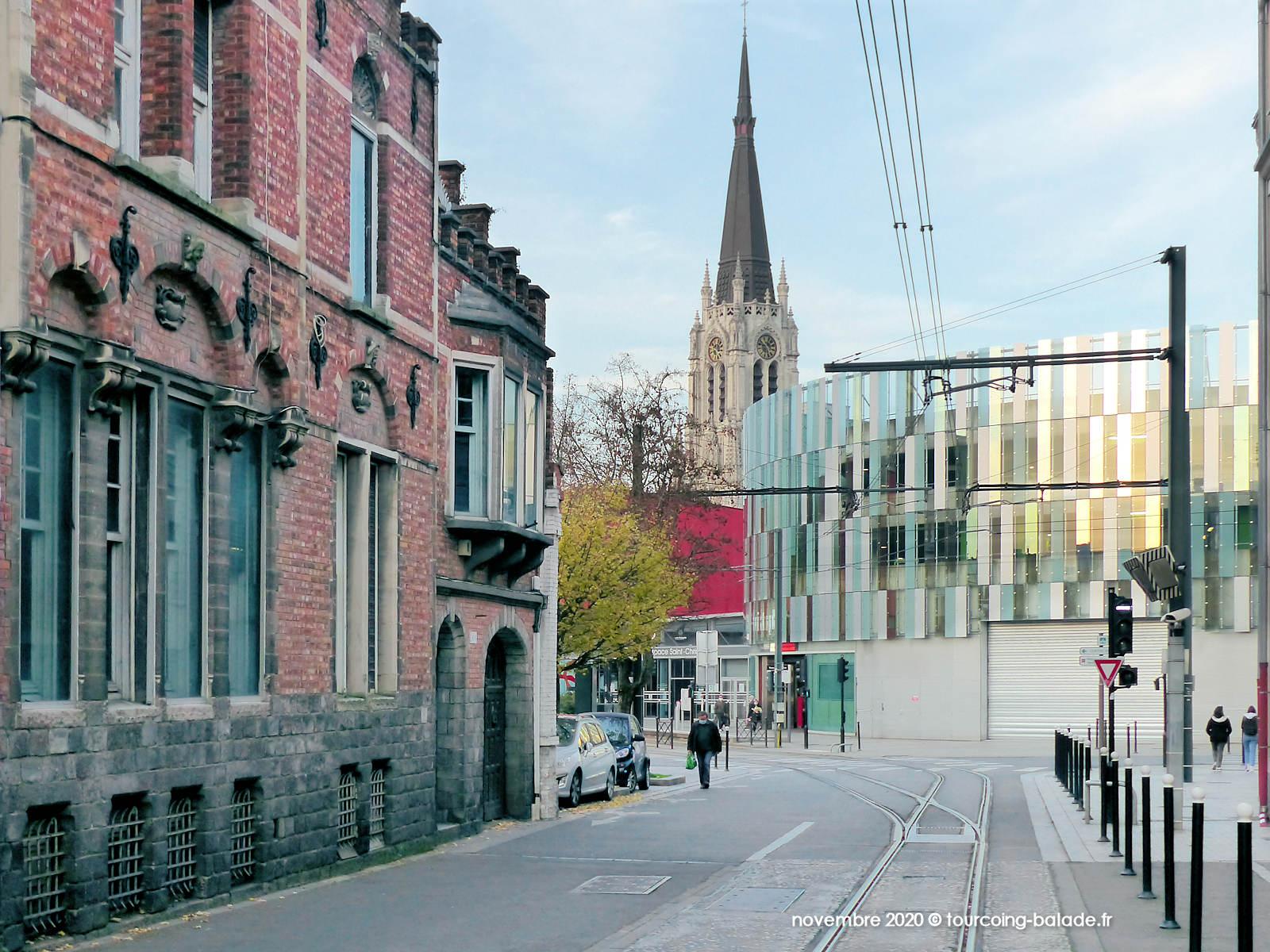Départ de la rue Chanzy, Tourcoing 2020