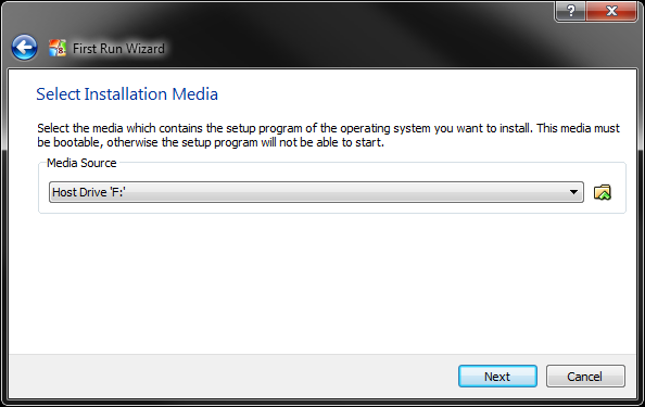 Windows 8 Installation in VirtualBox