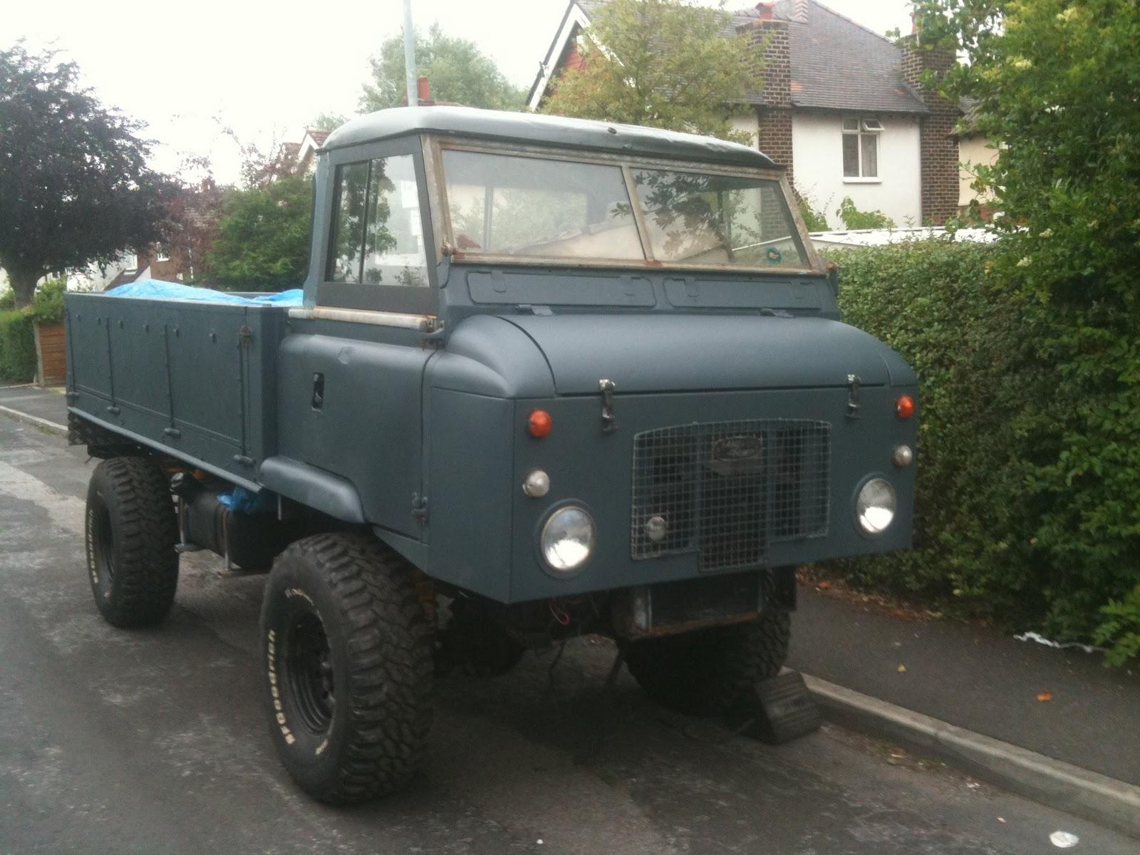e Land Rover is never enough