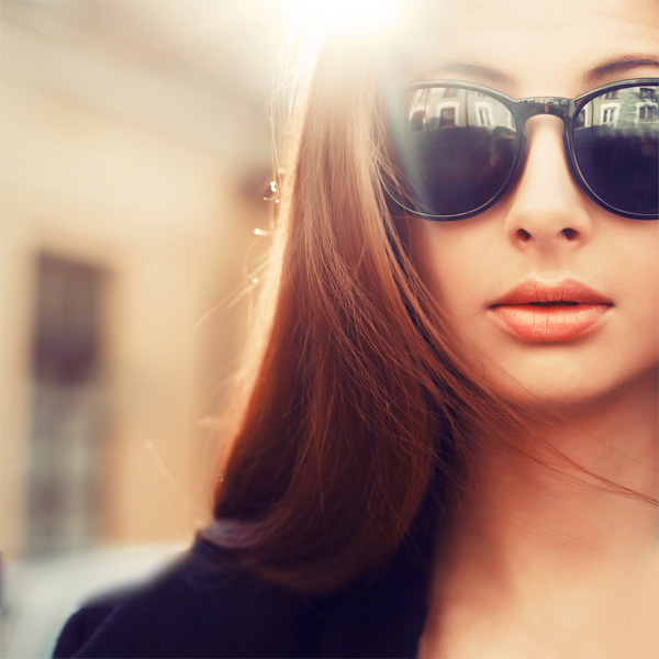 sunglasses to suit round face shape female