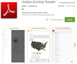 2 Aplikasi terbaik untuk membaca file pdf di android