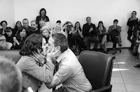 Casamiento en el Registro Civil del Distrito Centro de Rosario, Santa Fe, Argentina. Foto de Cristian Moriñigo, de Positive