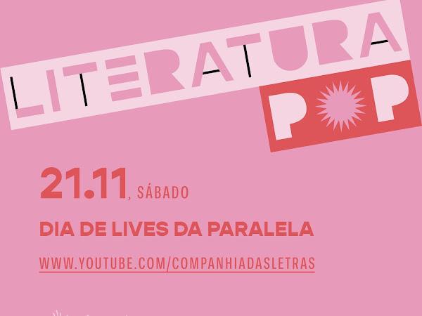 Editora Paralela comemora 34 anos com lives especiais