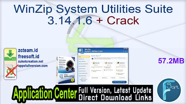 WinZip System Utilities Suite 3.14.1.6 + Crack_ ZcTeam.id