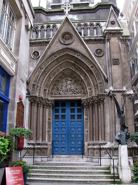 Parish church of St Michael, Cornhill, City of London, London
