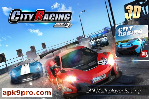 City Racing 3D v5.7.5017 Apk + Mod (File size 55 MB) for Android