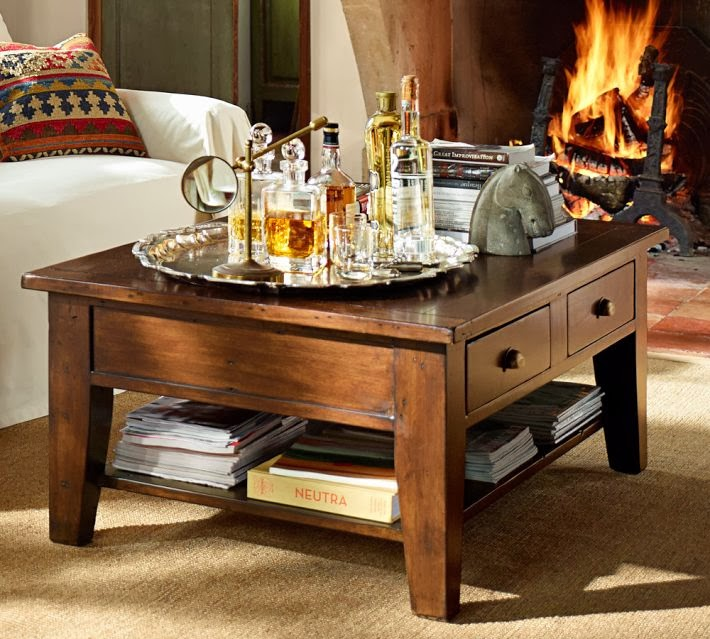 Incredible Pottery Barn Camden Reclaimed Wood Coffee Table Decor Look Pabps2019 Chair Design Images Pabps2019Com