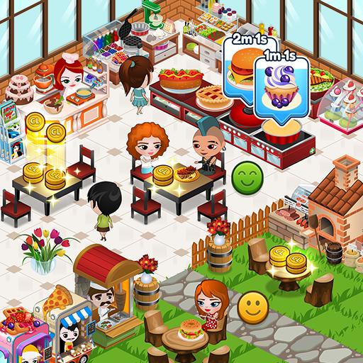 Cafeland - Jogo de Restaurante v2.1.20 Apk Mod [Dinheiro Infinito]