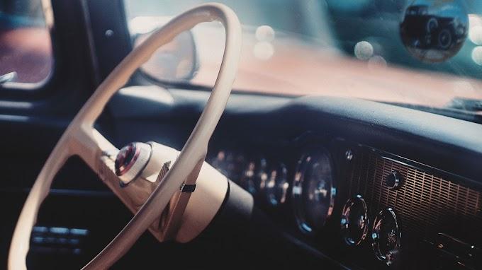 Vintage Volante de Carro