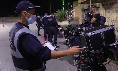 توقيف 8 أشخاص وحجز 31 دراجة نارية في عملية شرطة في غرداية
