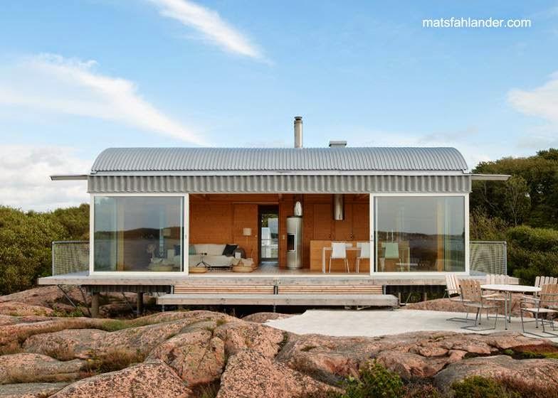 Casa de verano arquitecto Mats Fahlander en Suecia