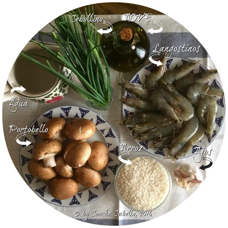 risotto-portobello-langostinos-mise
