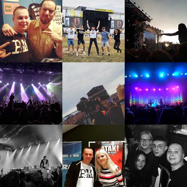 Najlepsze koncerty, płyty, wydarzenia roku 2017
