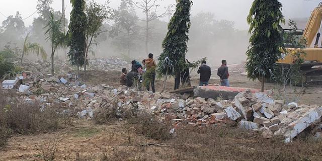 मुख्तार मलिक: भोपाल के बाद रायसेन वाली कोठी गिराई | BHOPAL NEWS