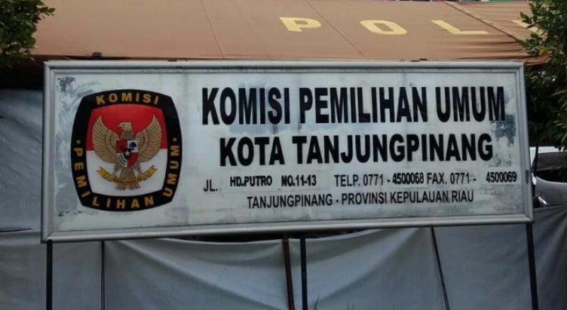 KPU Tanjungpinang Tetapkan DPT untuk Pilkada Kepri 2020 Sebanyak 149.354 Orang