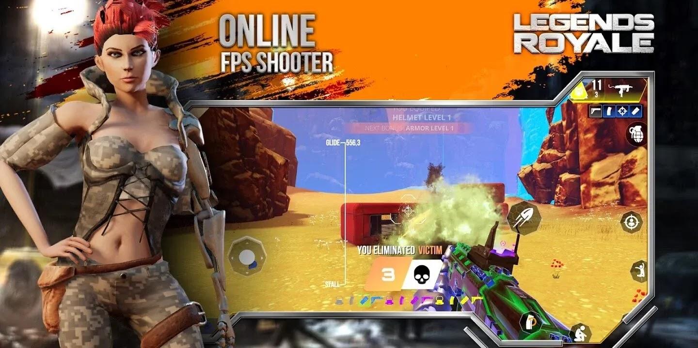 Legends Royale على وشك إطلاق الإصدار الرسمي لنظام Android. يمكنك تنزيل لعبة FPS battle royale عبر الإنترنت على للاستمتاع بالمعارك الشرسة!