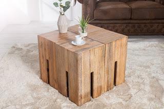 Akátovi stolek vhodní i jako príruční stolek.
