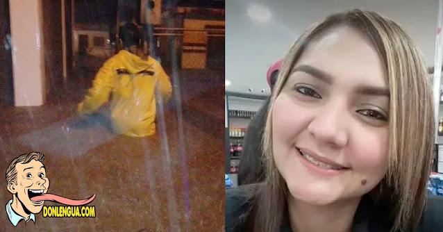 Falleció electrocutada intentando entrar a su casa durante el aguacero en Maracaibo