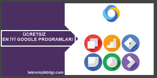 ücretsiz google programları