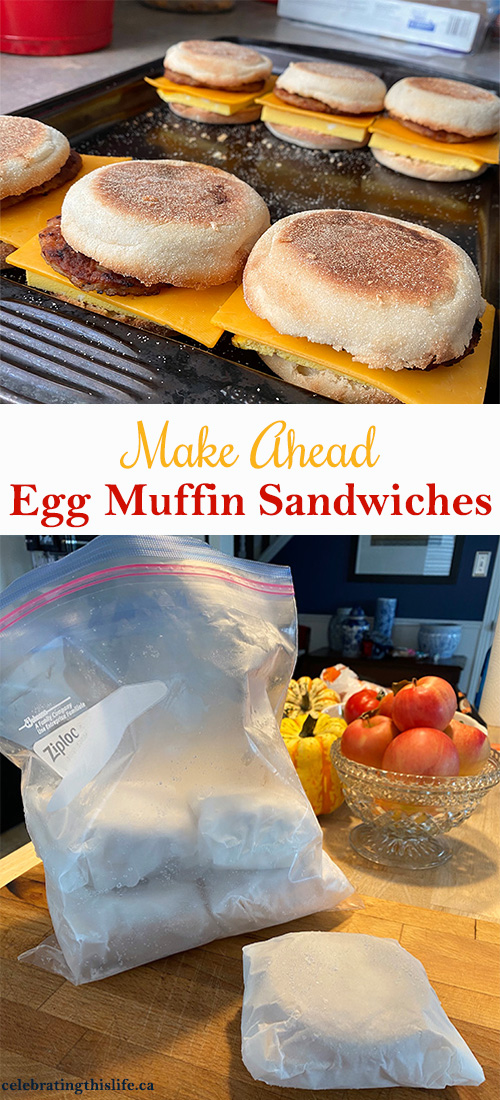 Make Ahead Egg Muffin Sandwiches