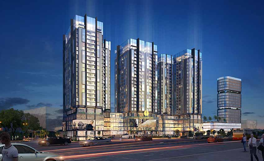 Mở bán chung cư Sun Grand City Ancora số 3 Lương Yên
