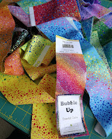Bubble Up fabric strips