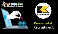 Kennametal Recruitment
