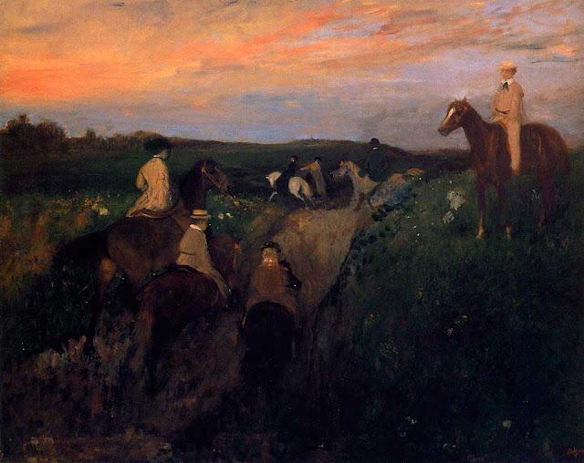Эдгар Дега - Прогулка (1866-1868)