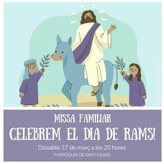 Missa familiar DIA DE RAMS