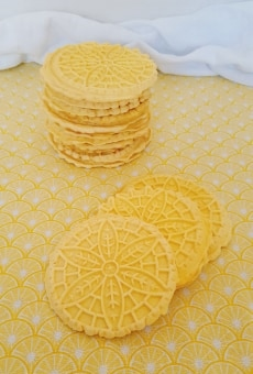 Lemon Pizzelles