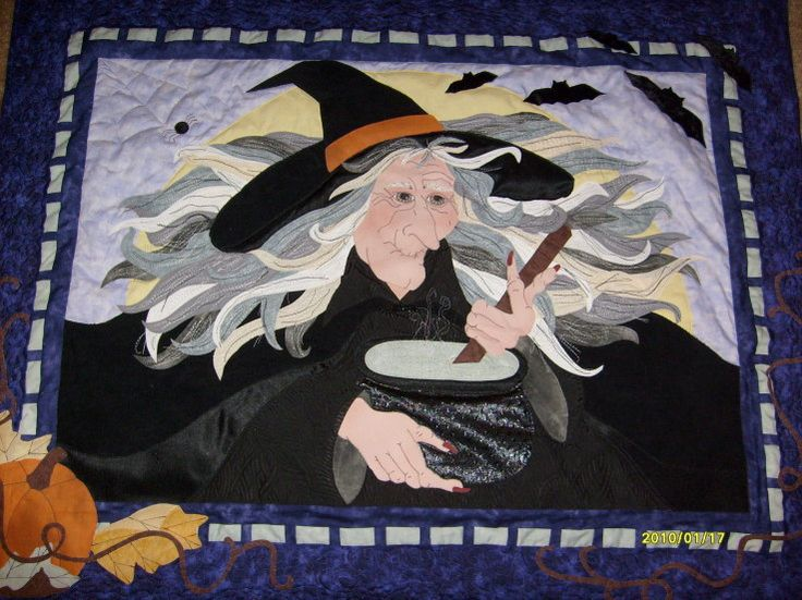 FreeThoughtsOfFreeDragon: Witches & Magick- Stitch Witch
