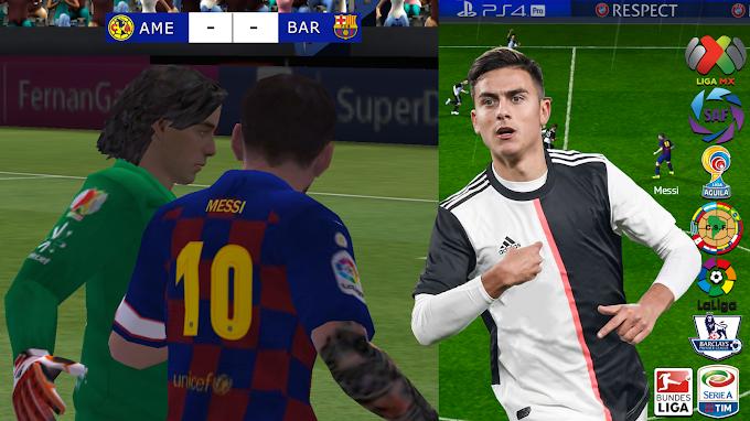 Ya salió! El Mejor JUEGO DE FUTBOL Realista 2020 Para ANDROID Con Ligas de América, MX, Sin INTERNET GRATIS