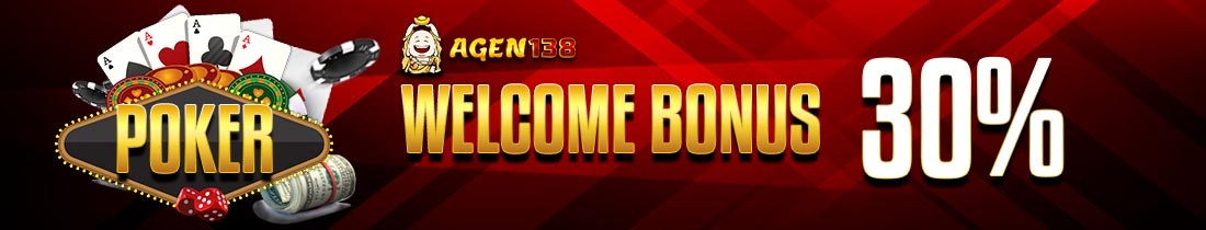 Bonus New Member Poker 30%