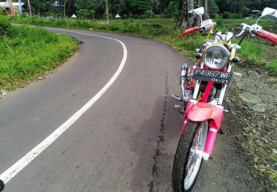 Tampil Elegen, 10  Foto Modifikasi Honda GL-PRO