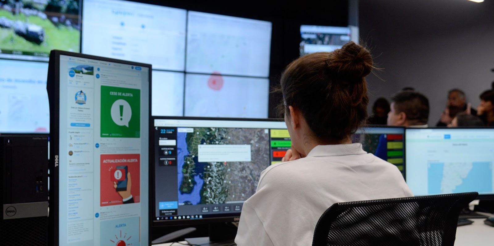 Se inauguró en Argentina el primer centro nacional de alerta y monitoreo de emergencias