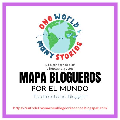 Mapa de blog por el mundo