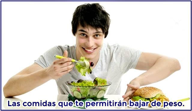 Comidas que te permitirán bajar de peso sin arriesgar tu salud