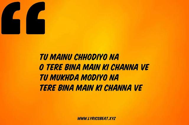 Channa Ve Punjabi Song Lyrics - B Praak - Sufna -   #LyricsBEAT