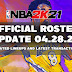 NBA 2K21 OFFICIAL ROSTER UPDATE 04.28.21 LATEST TRANSACTIONS