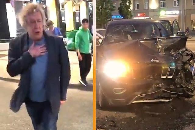 Пострадавший в ДТП с участием Ефремова водитель – скончался