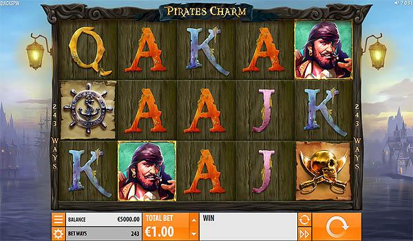 Main Slot Gratis Indonesia - Pirates Charm (Quickspin)
