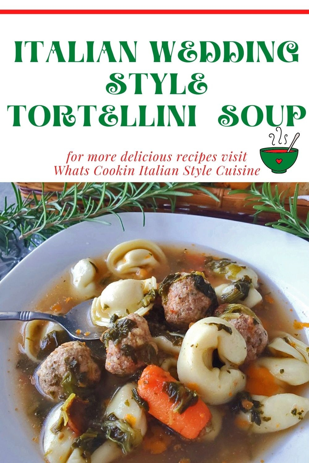 this is a pin for later on how to make wedding soup