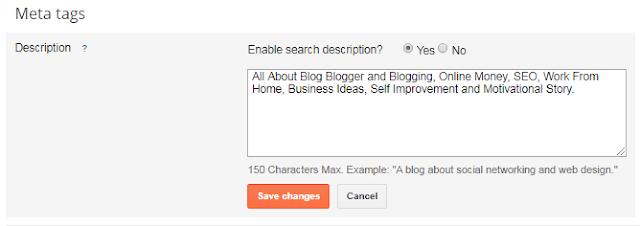 meta tags descriptions